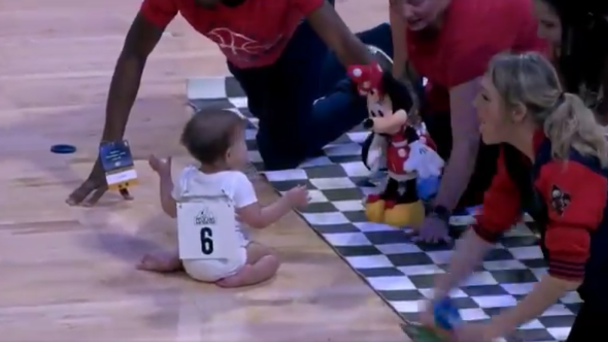 Pelicans Game Features Dramatic Thrilling Baby Race Filled