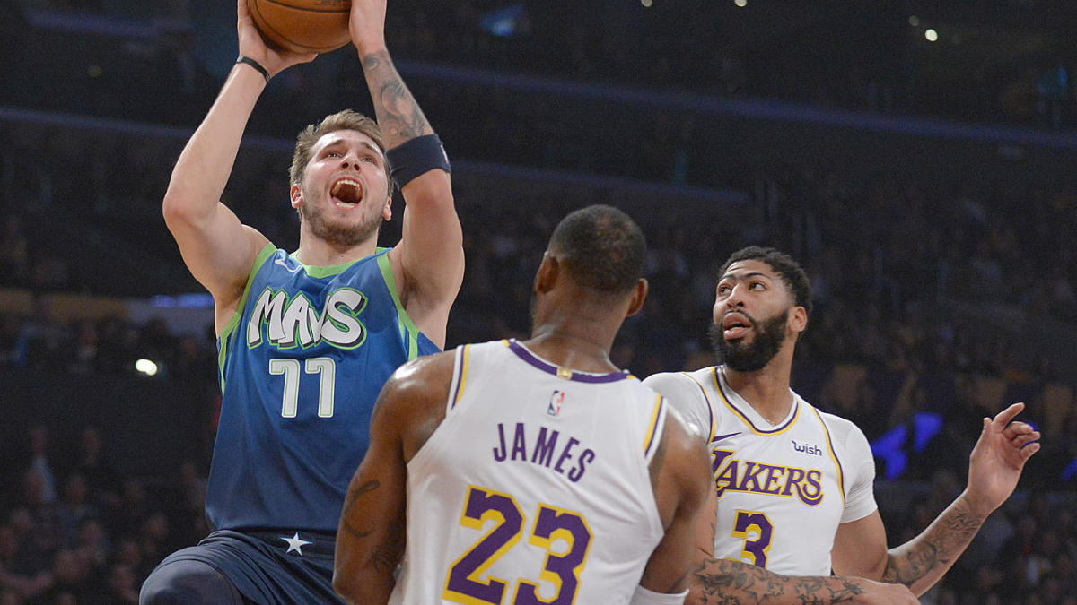 Luka Doncic Mavericks End Lakers 10 Game Win Streak Which