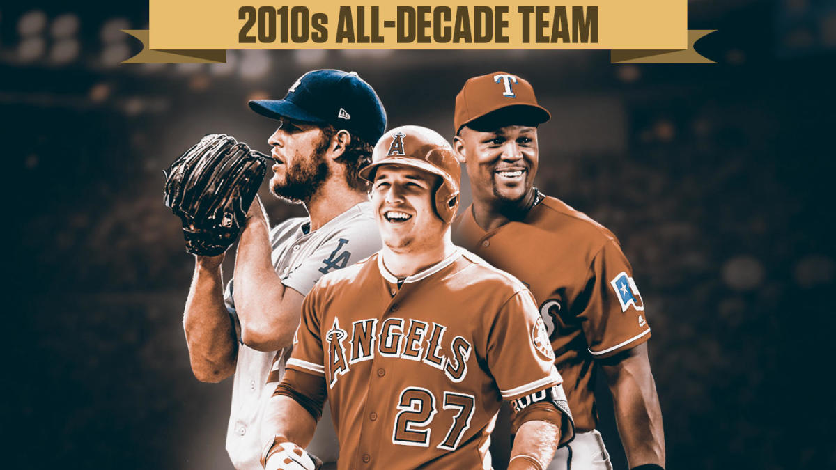 MLB All-Decade team: From Mike Trout to Clayton Kershaw, the best at each position in the 2010s