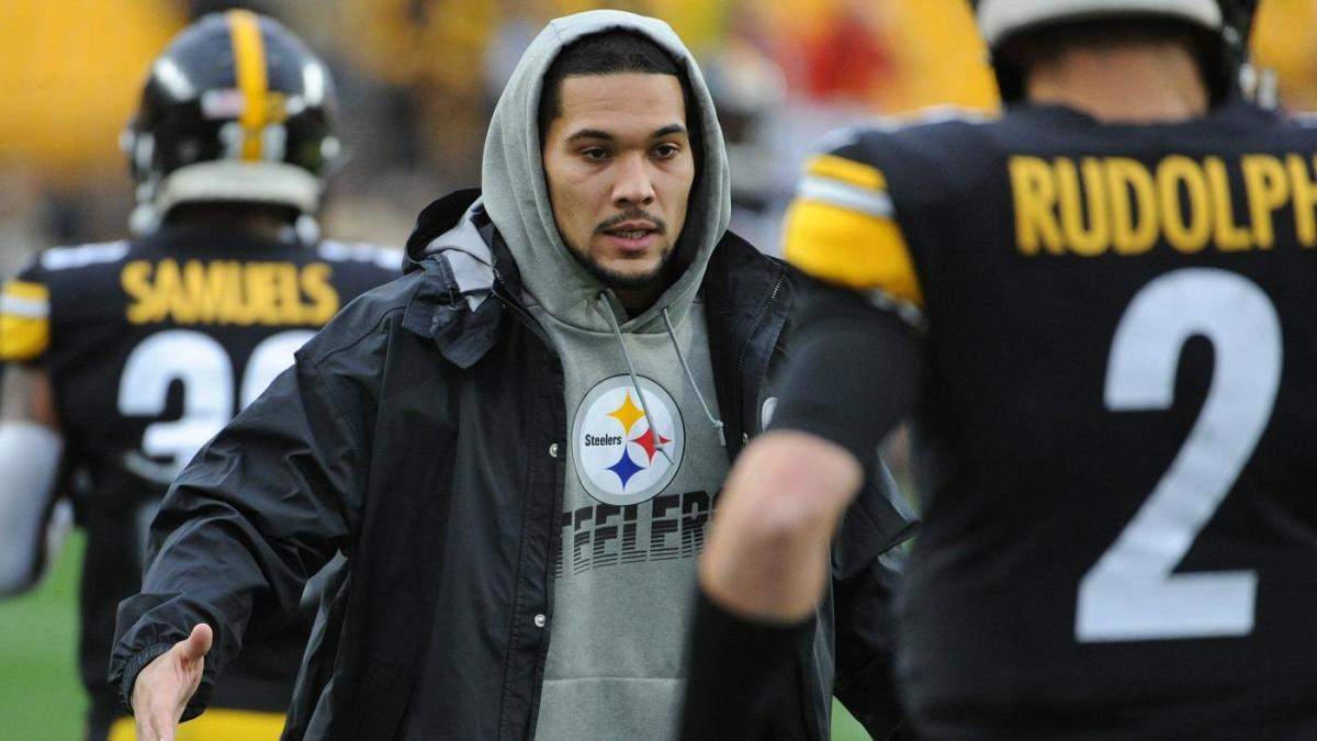 Steelers' James Conner meets Pittsburgh fan battling cancer ahead of win over Browns