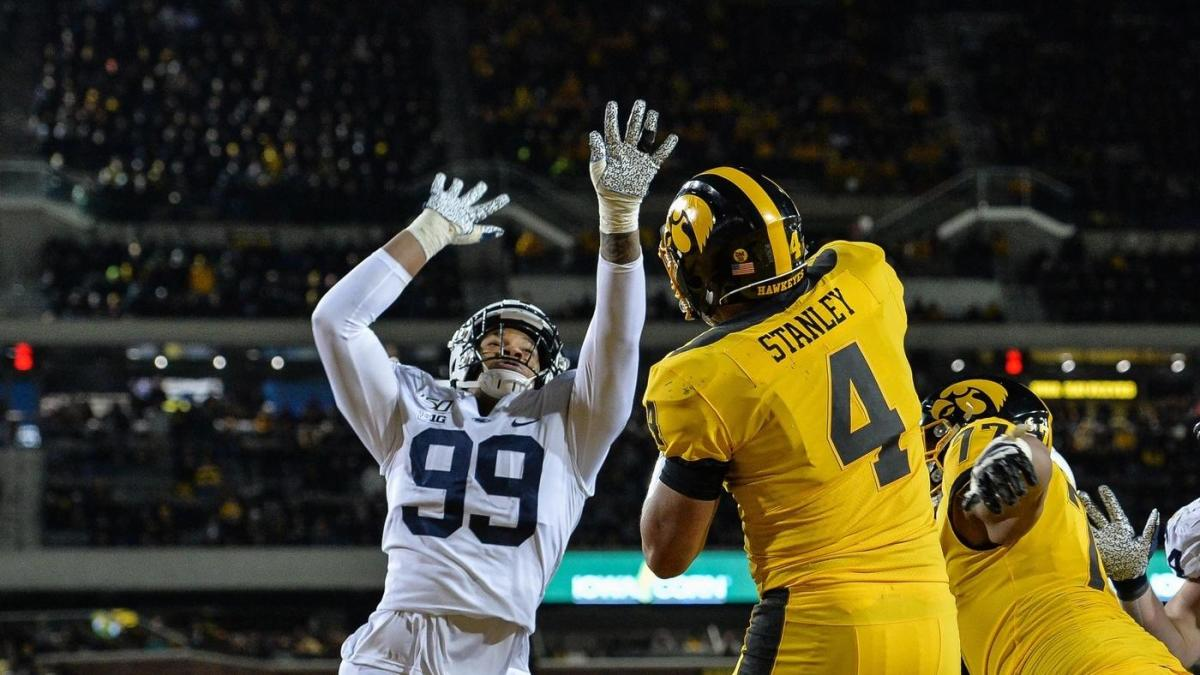 Projected Bowl Games 2020.2020 Nfl Draft Penn State Defensive End And Projected First