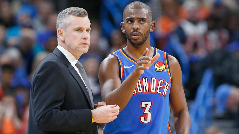 Chris Paul embracing mentor role in OKC, but he's not changing his leadership style: 'I've got to be who I am'