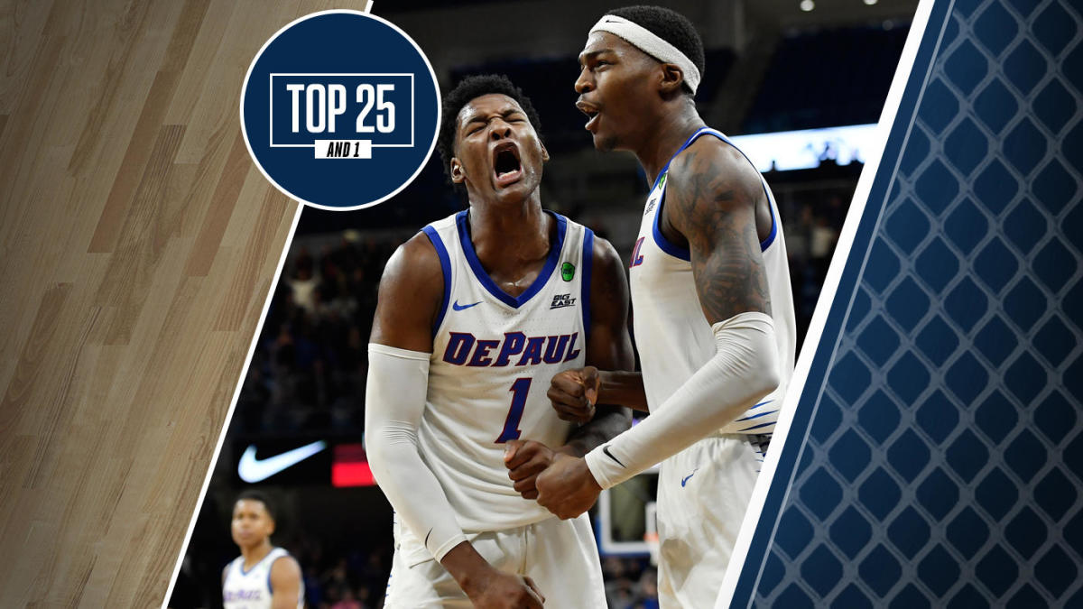 College basketball rankings: DePaul upsets Texas Tech to remain undefeated and move into the Top 25 And 1