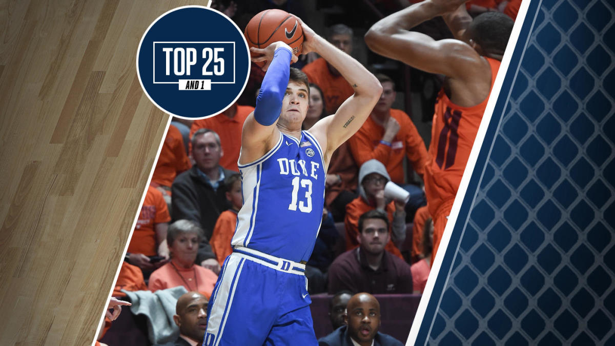 College basketball rankings: Duke wins at Virginia Tech, holds spot at No. 9 in the Top 25 And 1