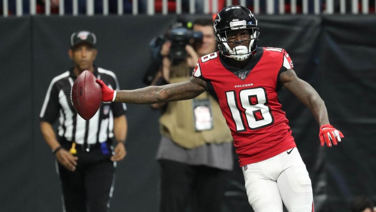 Calvin Ridley's season over due to abdominal injury suffered in Falcons' win over Panthers