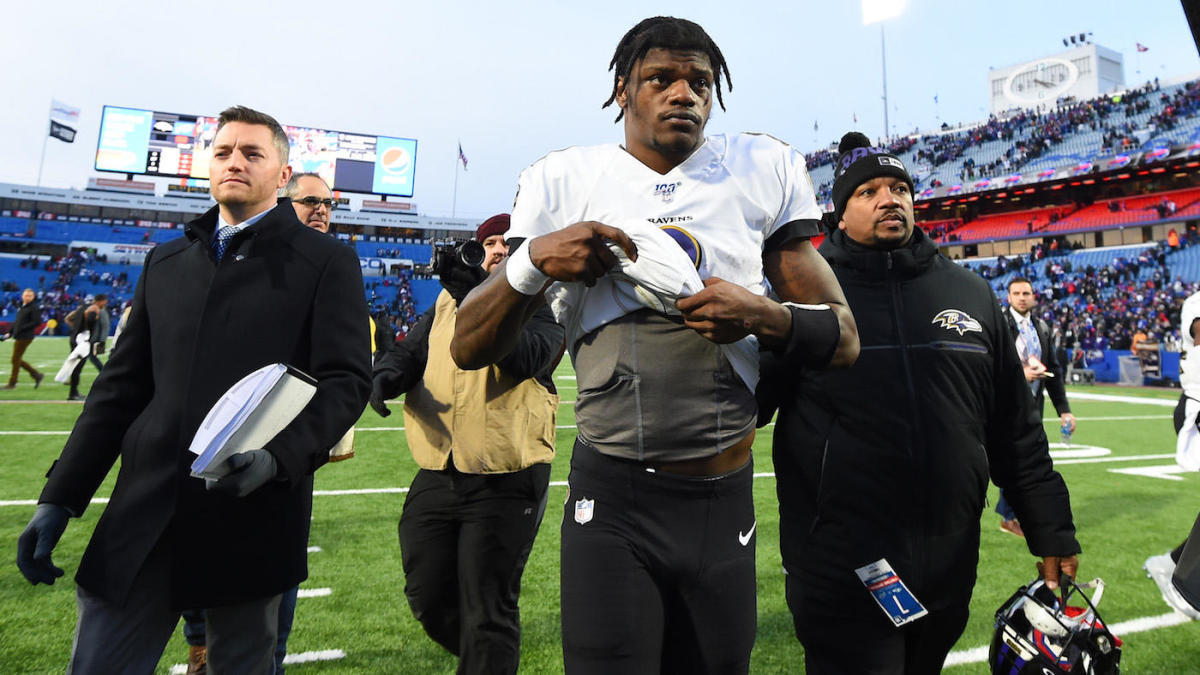 Lamar Jackson says he will play Thursday night in Jets-Ravens game after injuring quad