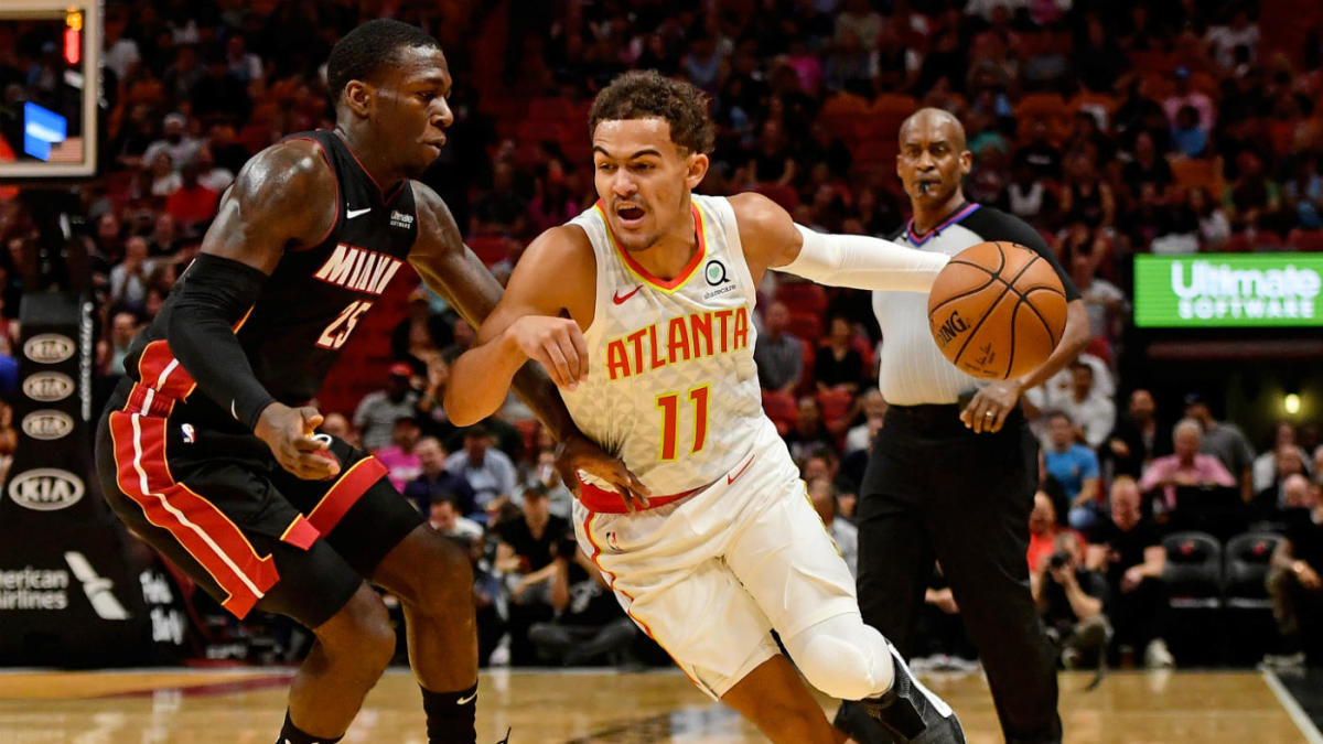 Trae Young tells Miami crowd'it's over'hot quickly to score more than the Eagles 24-4, win in overtime