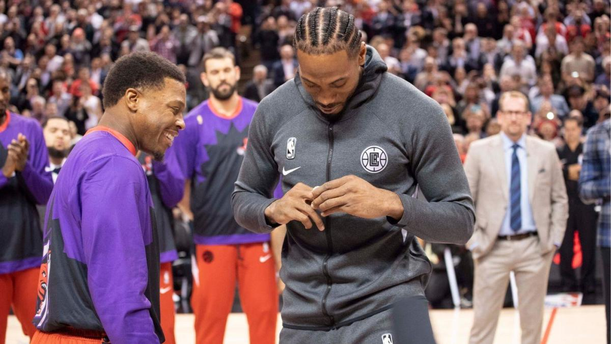 Raptors recreating Kawhi Leonard's game-winner vs. 76ers is one of the best video tributes you'll ever see