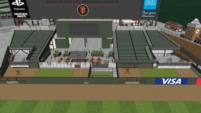 San Francisco Giants plan to move bullpens, bring in center-field fence at Oracle Park