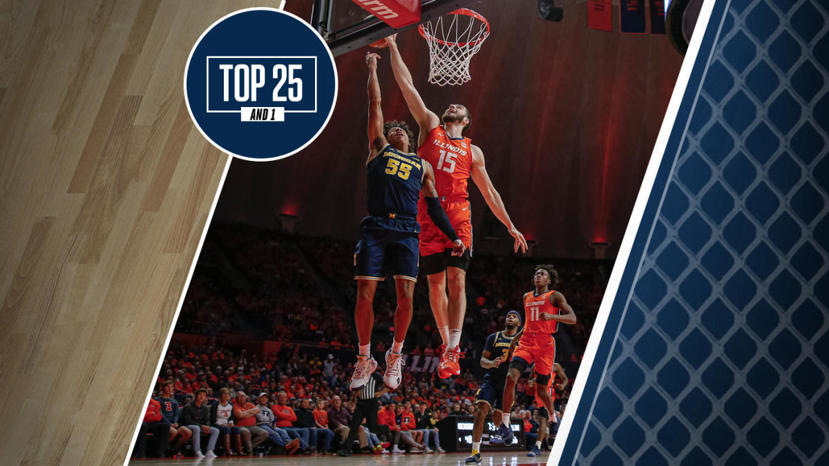 College Basketball Rankings Michigan Drops Out Of Top Five