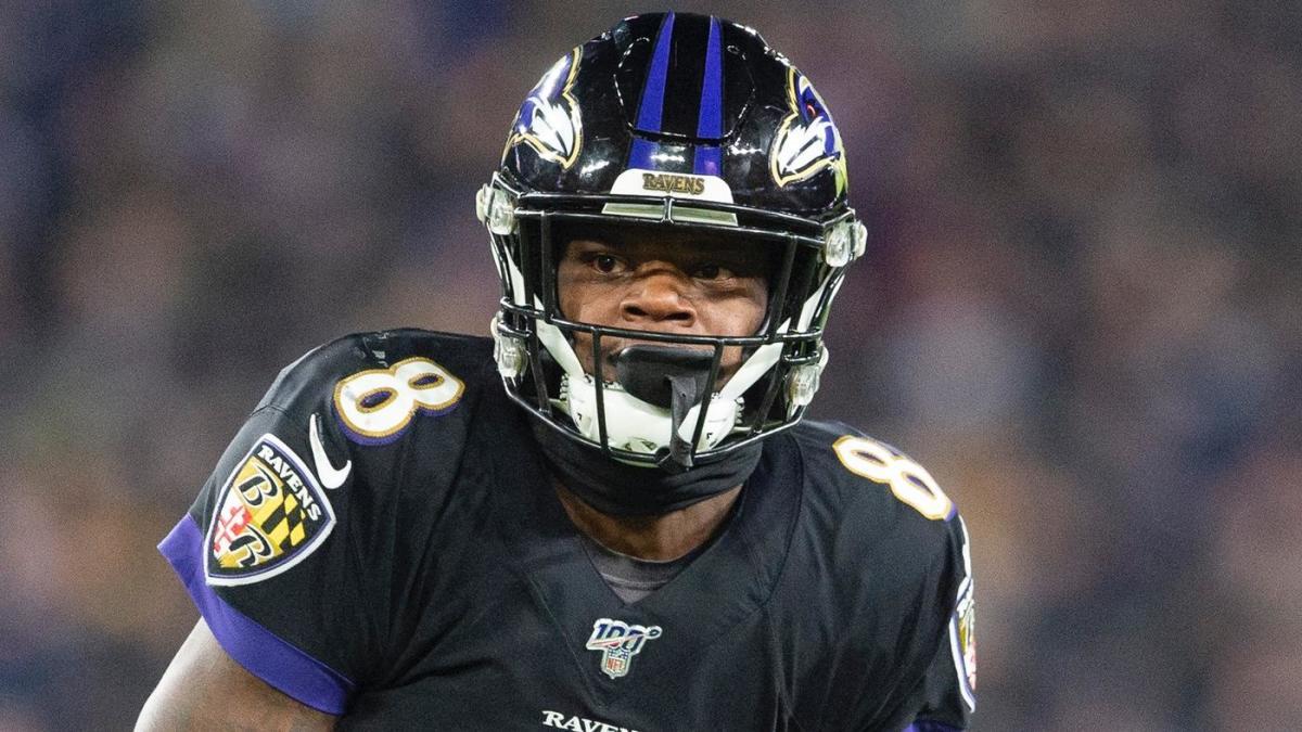 Lamar Jackson breaks Michael Vick's single-season rushing yards record by a quarterback