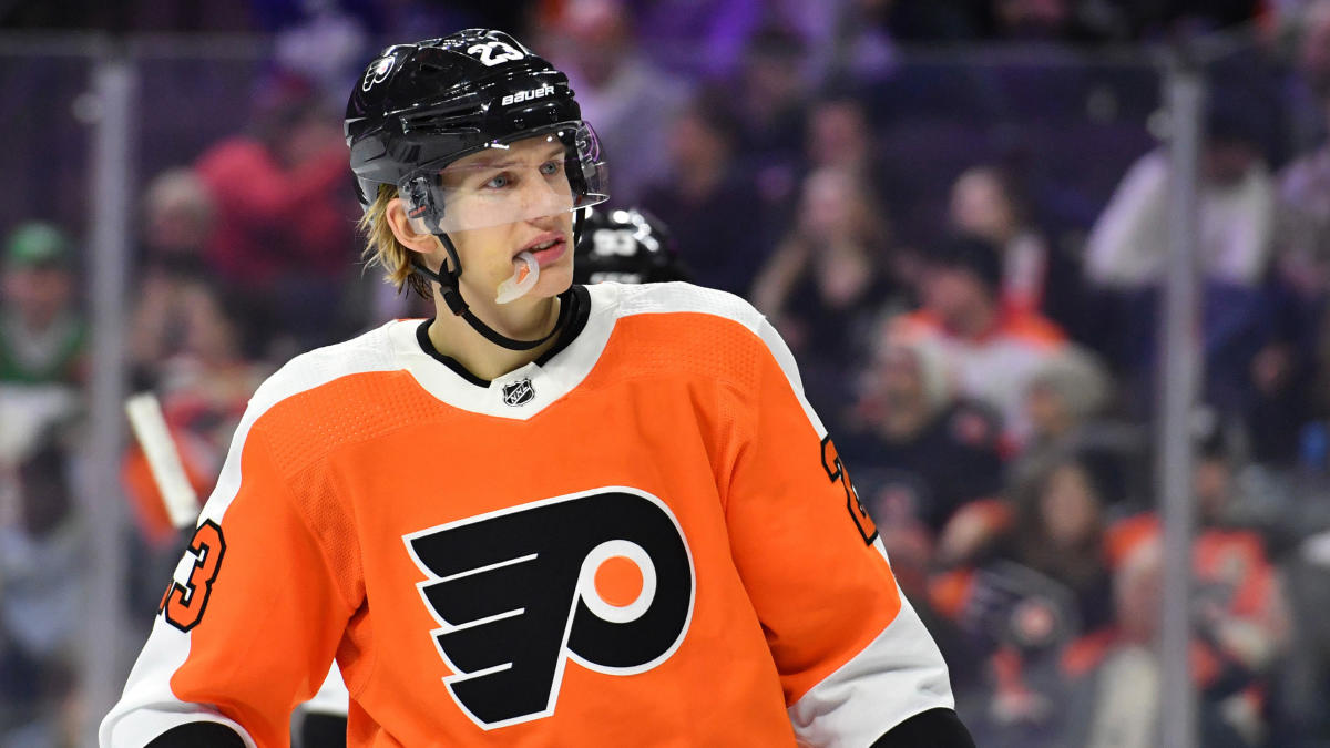 Flyers' Oskar Lindblom diagnosed with rare bone cancer Ewing's sarcoma, expected to miss remainder of season