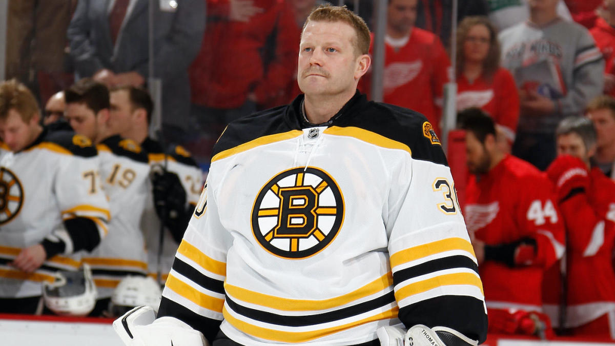 former bruins goalie tim thomas details struggle with