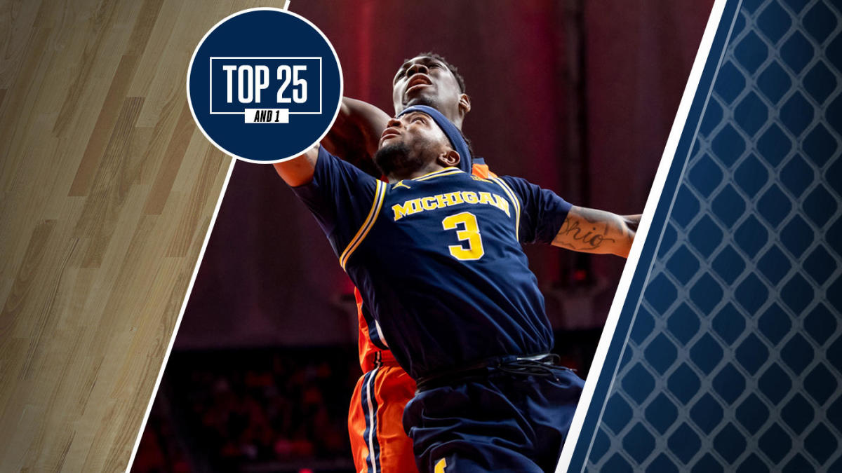 College Basketball Rankings: Saturday slate highlighted by three games between teams ranked in Top 25 And 1