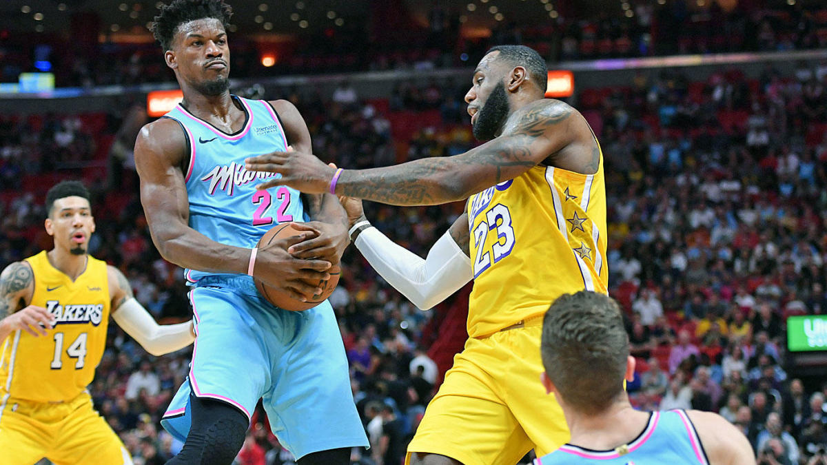 The Miami Heat might not believe in moral victories, but they certainly earned the Lakers' respect in defeat