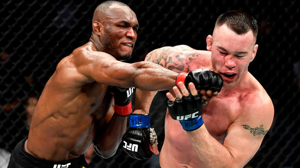 UFC 245 results, highlights: Kamaru Usman outlasts Colby Covington in  hellacious war for late TKO victory - CBSSports.com