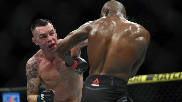 Ufc News Rumors Company Confirms Colby Covington Suffered Broken Jaw Tyron Woodley Fight Could Be Next Cbssports Com