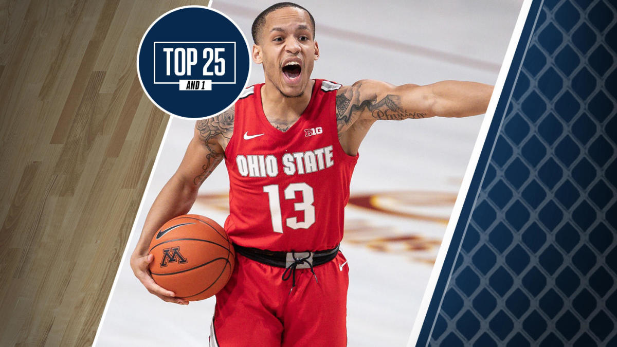College Basketball Rankings Ohio State No 3 In Top 25 And
