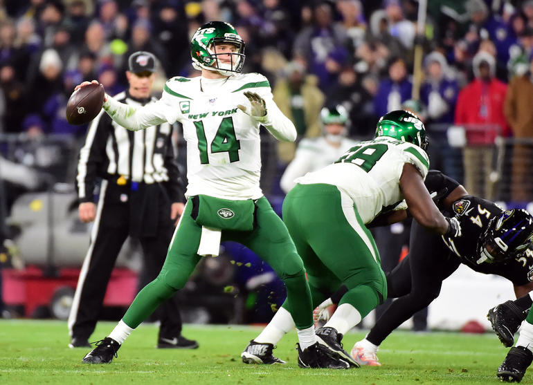 NFL: New York Jets at Baltimore Ravens