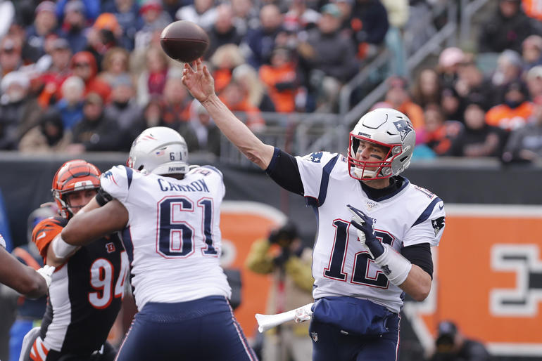 NFL: New England Patriots at Cincinnati Bengals