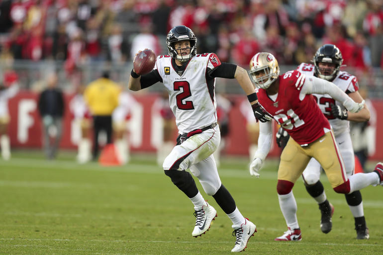 NFL: Atlanta Falcons at San Francisco 49ers