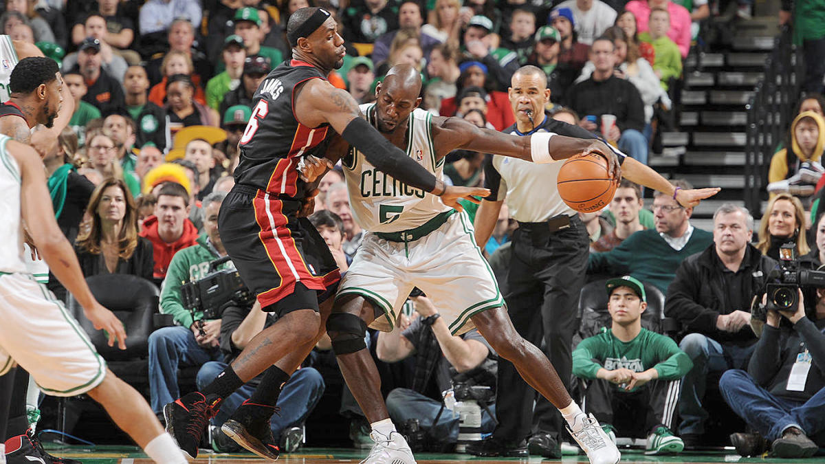 Kevin Garnett Says Celtics Broke Lebron James In Playoffs Forcing His Way To Join Up With Dwyane Wade Heat Cbssports Com