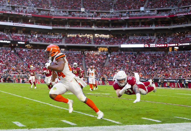 NFL: Cleveland Browns at Arizona Cardinals