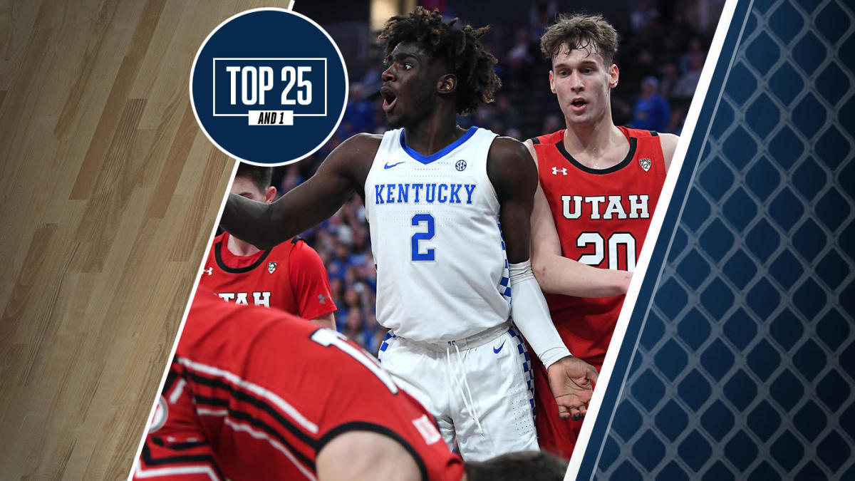 College Basketball Rankings Kentucky Falls Out Of Top 25
