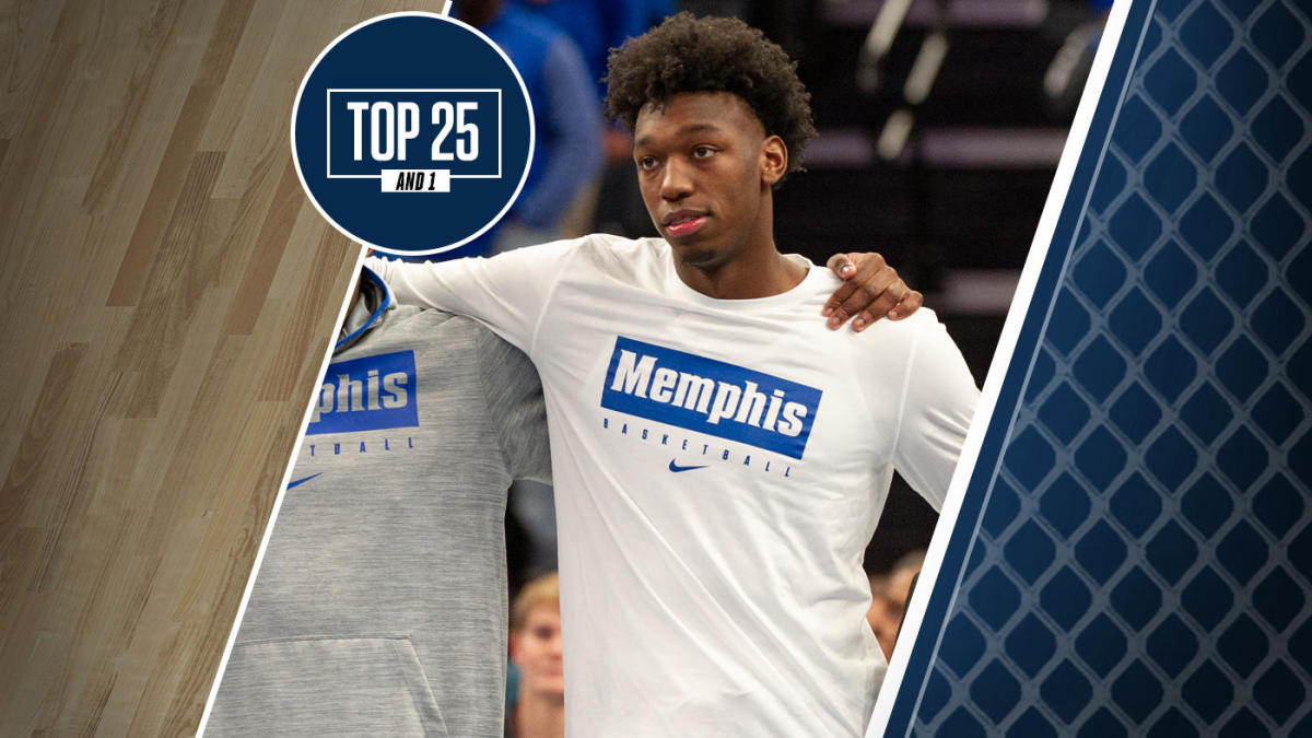 College Basketball Rankings Memphis Is No 9 In Top 25 And