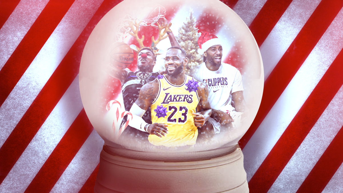 Nba Christmas Day 2019 What To Know As Clippers Lakers Bucks 76ers Headline Star Studded Holiday Game Lineup Cbssports Com
