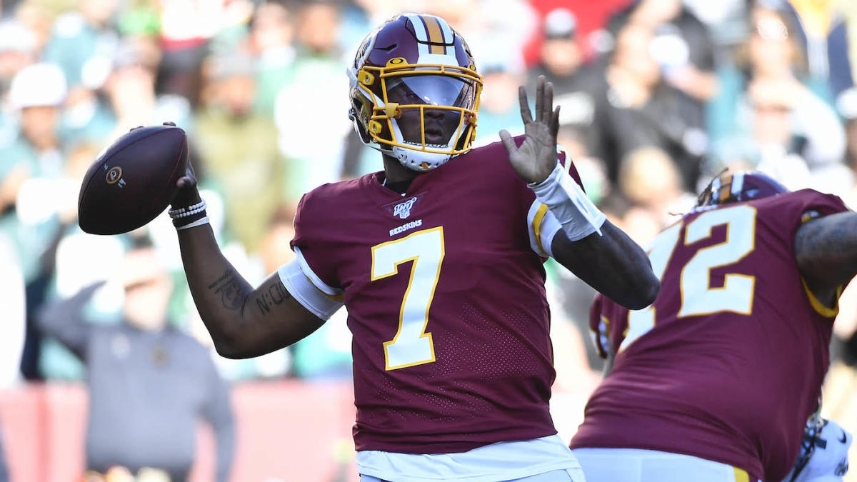 Washington Redskins considering name change: Dwayne Haskins weighs in with his pick for new name – CBS Sports