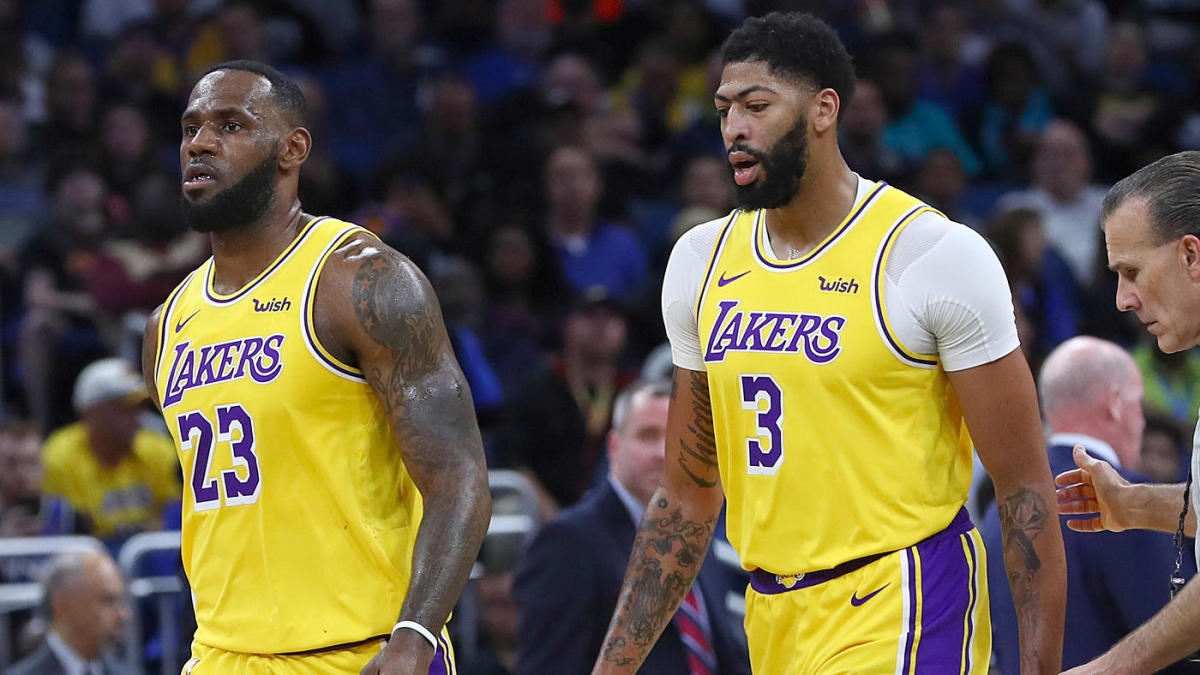 LeBron James pokes fun at people who thought Lakers gave up 'too much' for Anthony Davis