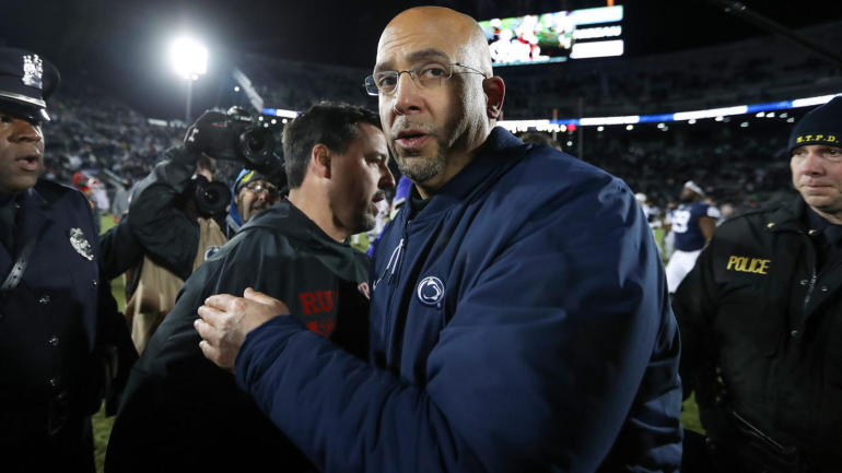 Penn State coach James Franklin, players named in federal lawsuit citing accusations of hazing