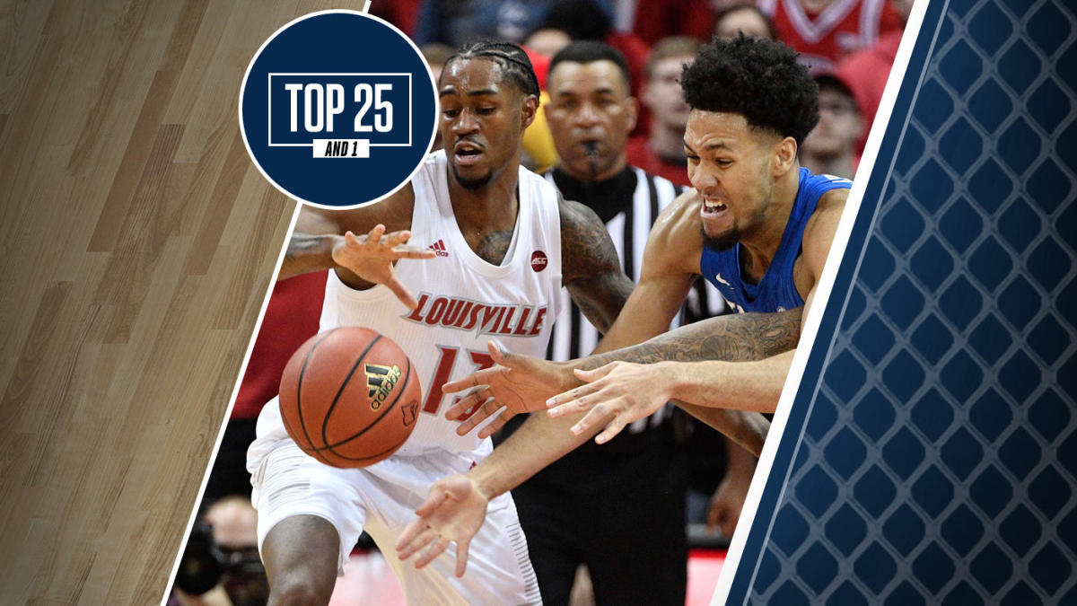 College Basketball Rankings Louisville No 4 In Top 25 And