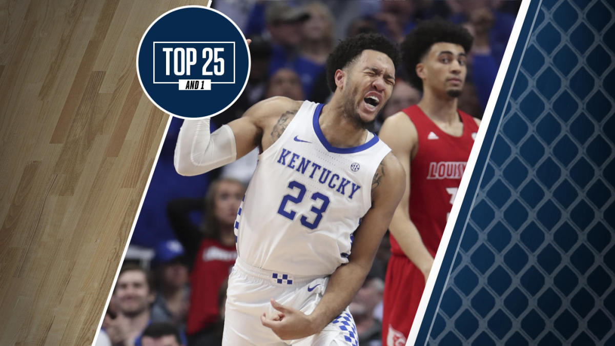 College Basketball Rankings Kentucky Returns To Top 25 And