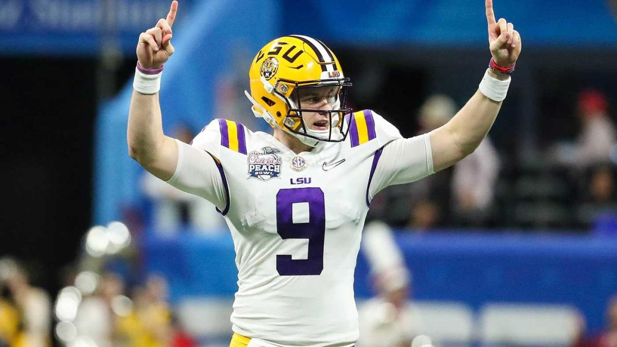 Joe Burrow, Chase Young to participate in virtual draft; NFL will reportedly place cameras in prospects' homes