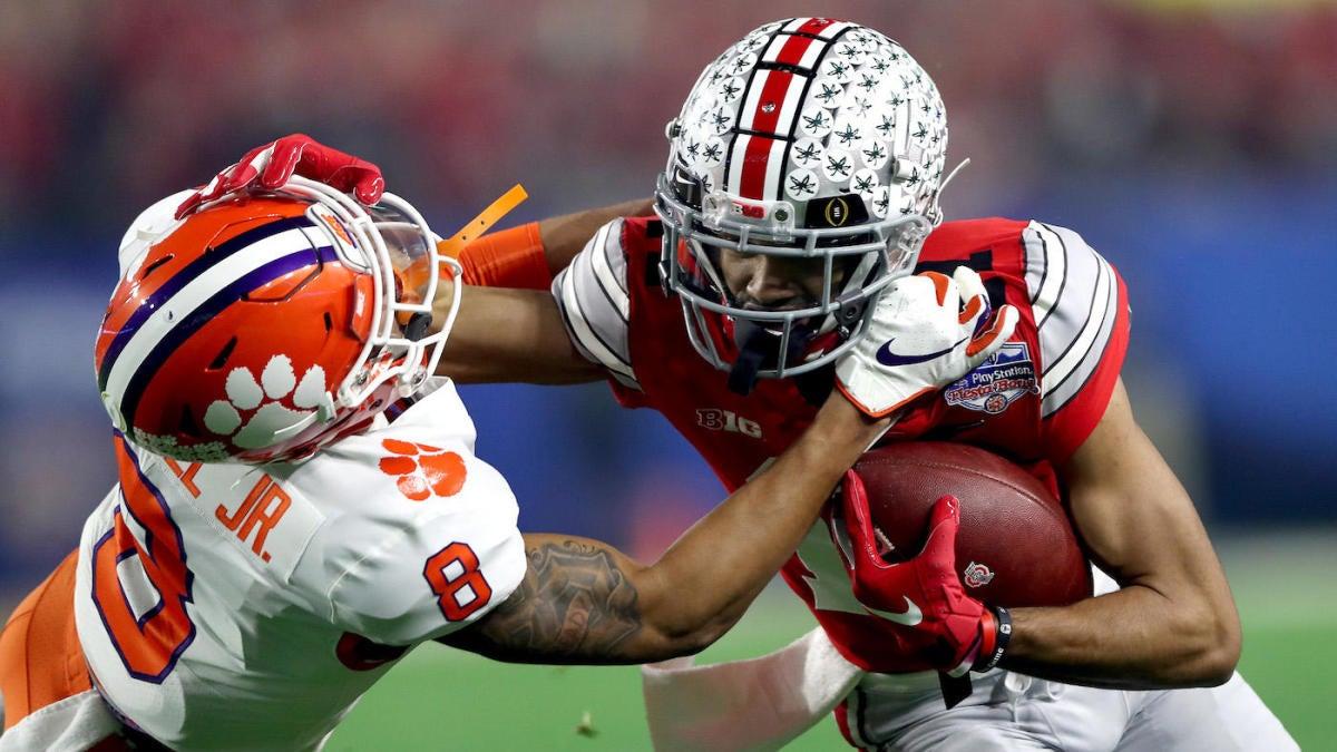 Ohio State star WR Chris Olave spurns the NFL to return for senior season