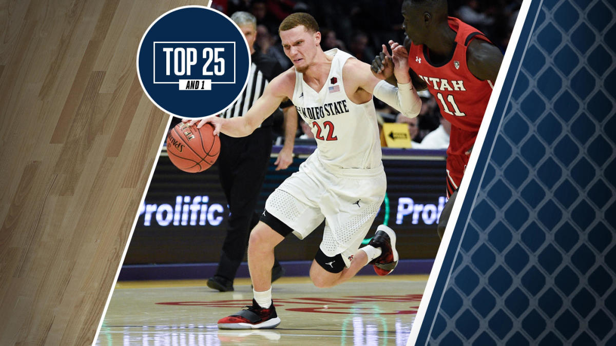 College Basketball Rankings Undefeated San Diego State