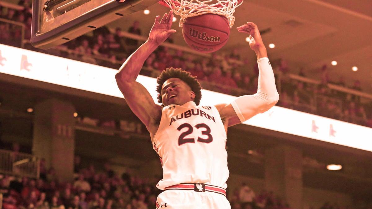 College Basketball Power Rankings Unbeatens Auburn San