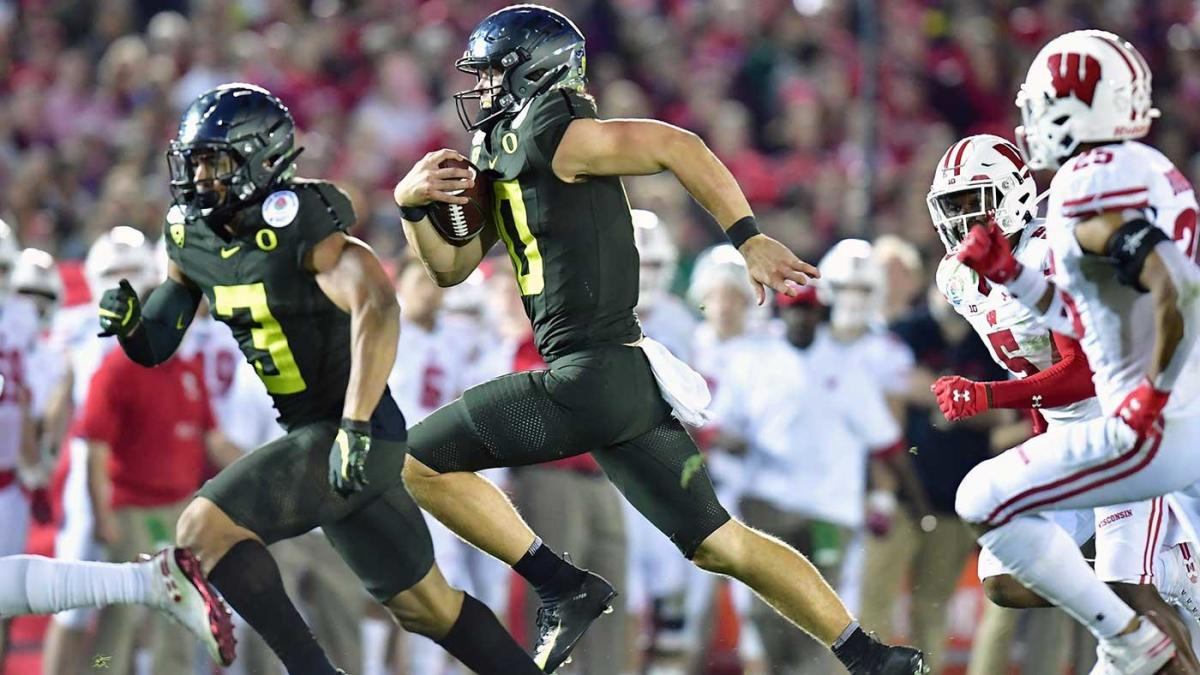 Bowl Oregon Herbert Rose 2020: Wisconsin vs. score, Justin