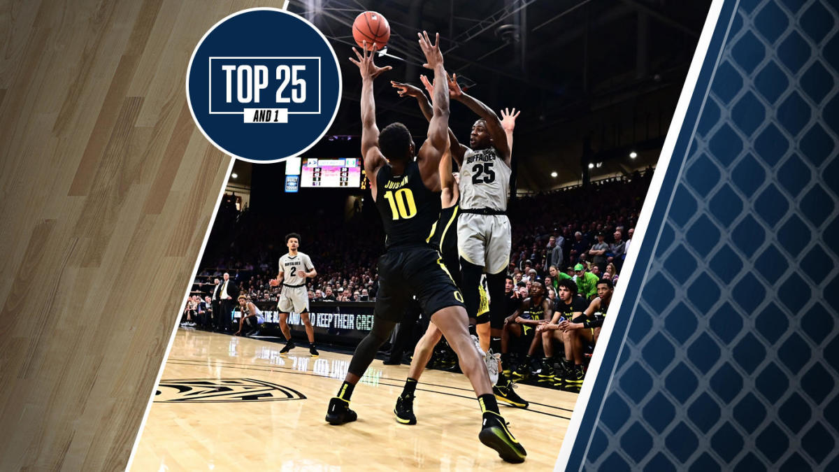 College Basketball Rankings Colorado Jumps To No 17 In Top
