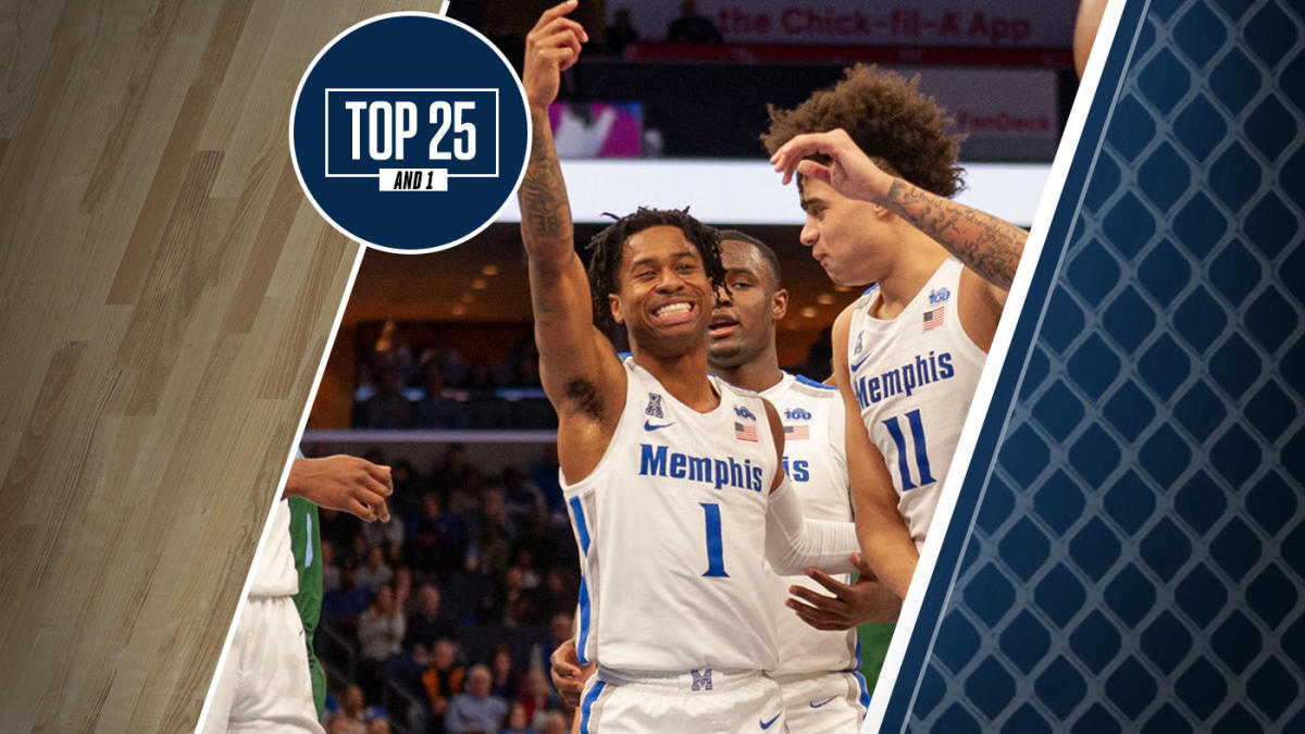 College Basketball Rankings Memphis No 6 In Top 25 And 1