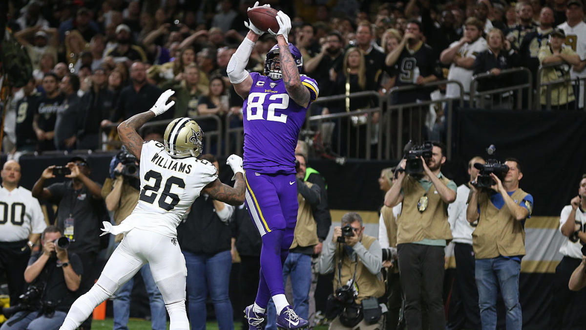 NFL VP of officiating explains why pass interference wasn't called at end of Vikings' shocking win over Saints