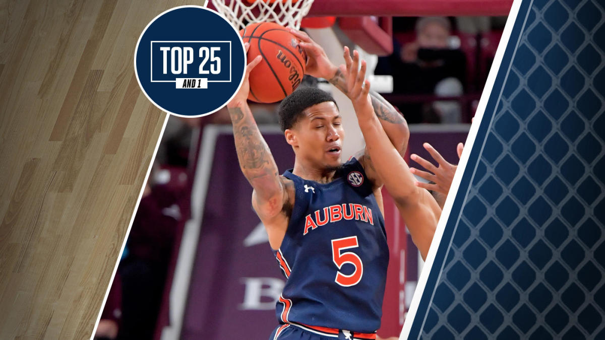 College Basketball Rankings Auburn San Diego State Up In