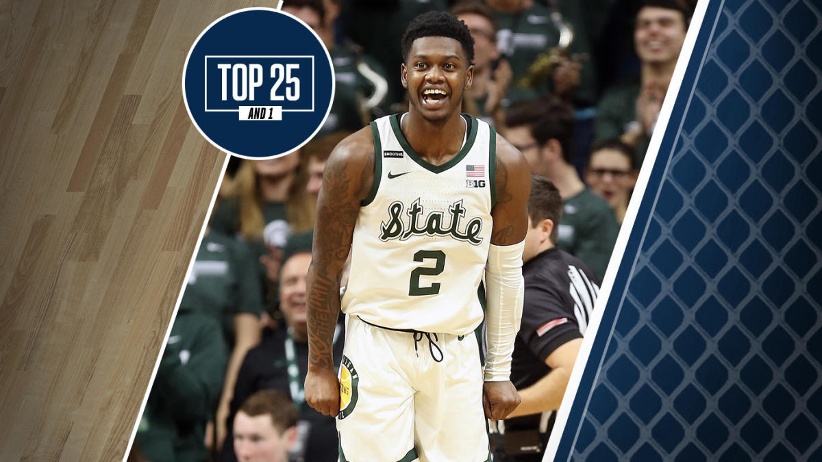 College Basketball Rankings Michigan State Returns To Top