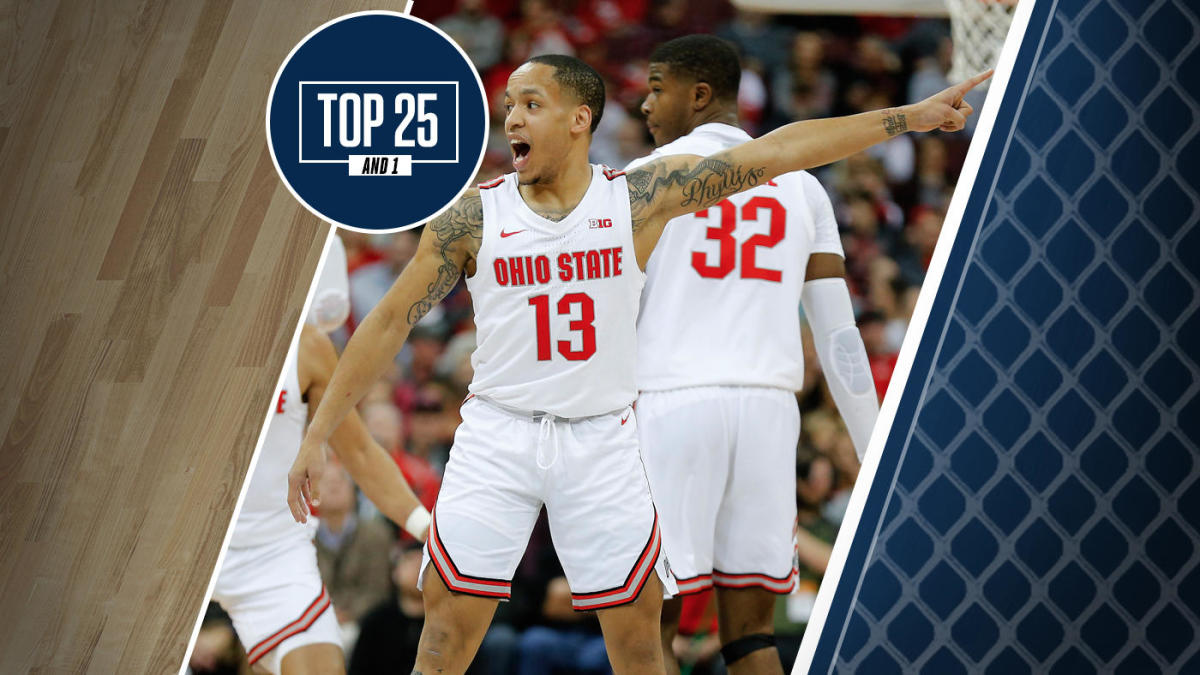 College Basketball Rankings Ohio State No 14 In Top 25