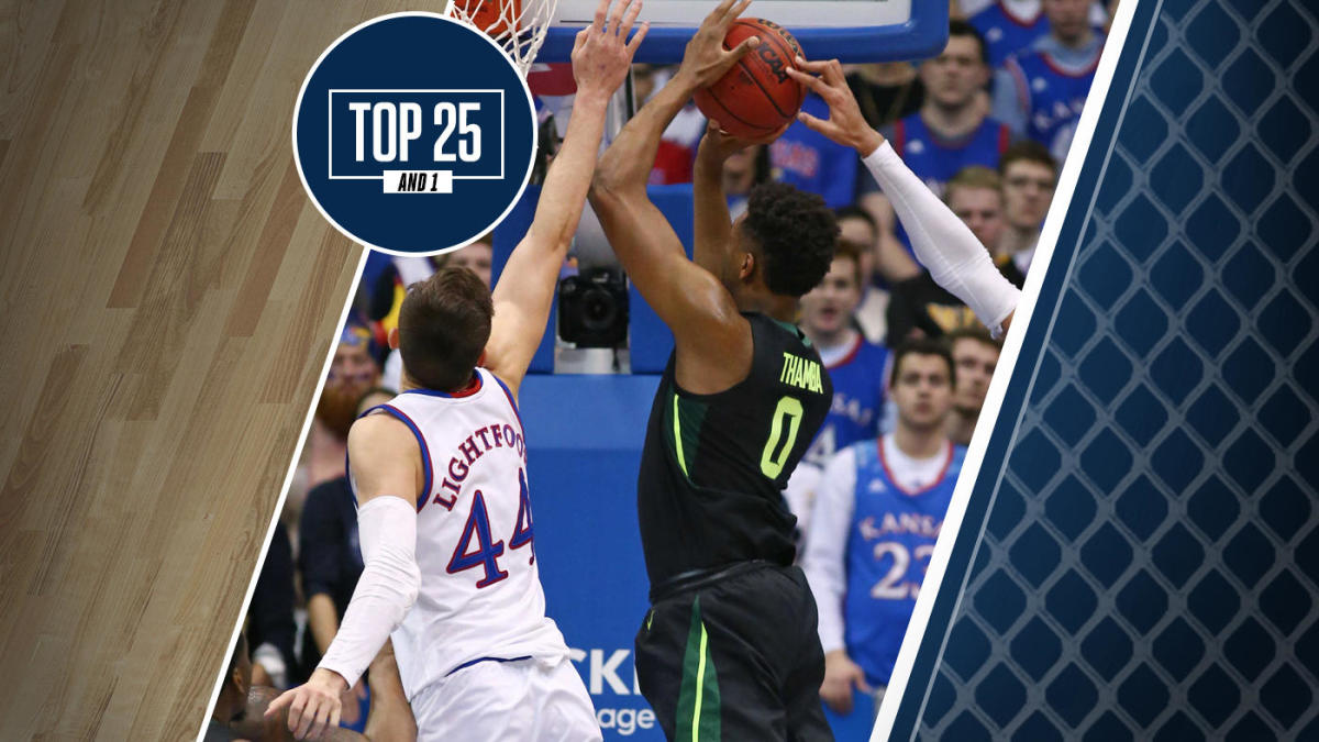 College Basketball Rankings Kansas And Baylor Set For