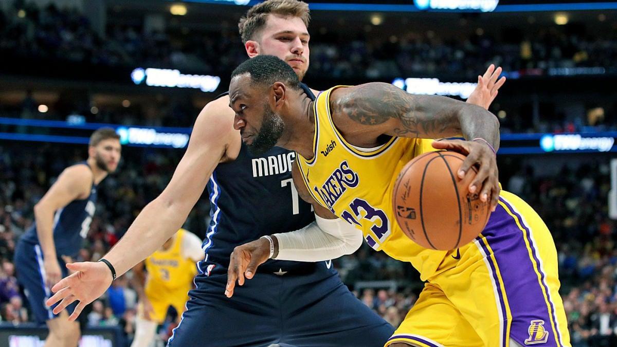 Mavericks vs. Lakers on NBA Christmas Day: Live stream info, watch online,  TV channel, odds, start time, pick - CBSSports.com