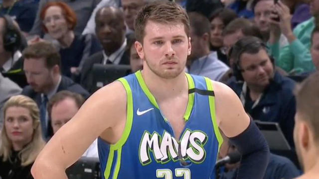 Luka Doncic Tears His Jersey Nearly In Half After Missing