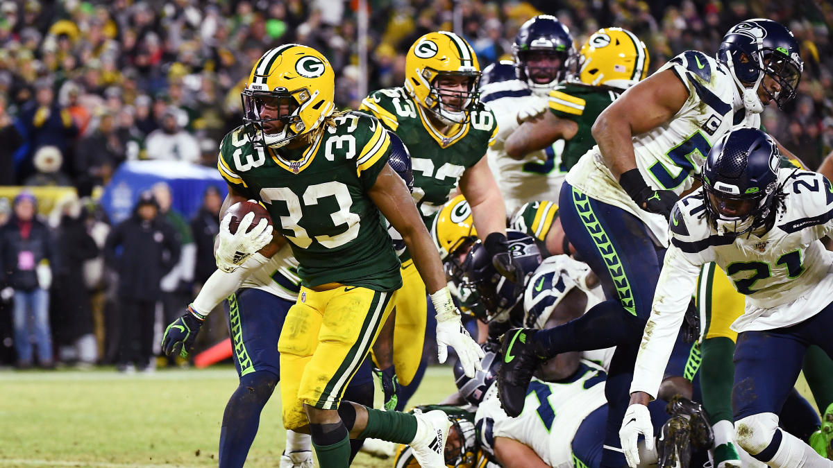 Fantasy Football Running Back Dynasty Rankings: Risers and Fallers, plus how much will Aaron Jones regress?